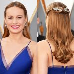 Brie Larson New, Half Up, Long Hairstyles Pictures