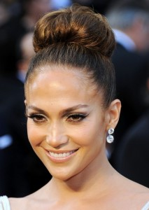 Jennifer Lopez New, Short, Updo, Curly, Bun Hairstyles Picture