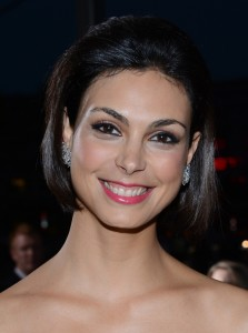 LOS ANGELES, CA - JANUARY 09: Morena Baccarin attendsMorena Baccarin New, Short, Bob Hairstyles Pictures the 34th Annual People's Choice Awards at Nokia Theatre L.A. Live on January 9, 2013 in Los Angeles, California. (Photo by Jason Kempin/Getty Images for PCA)