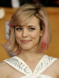 Rachel McAdams Updo, Short, Vow Hairstyles