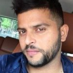 Suresh Raina New Hairstyle 2019