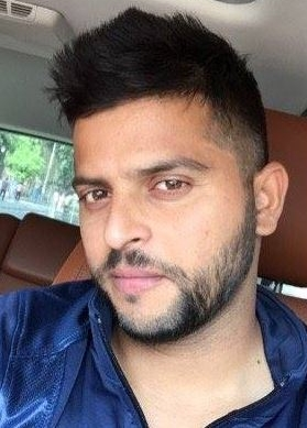Suresh Raina New Hairstyle 2019 With Beard