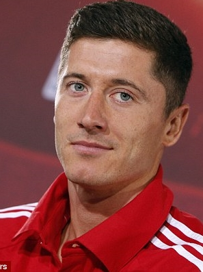 Robert Lewandowski Hairstyle 2017 Pictures