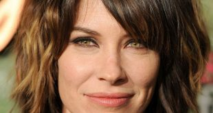 Evangeline Lilly New Short, Bob Hairstyles Pictures