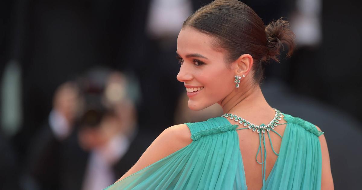 Celebrity Hairstyles in Venice film festival 2020 2