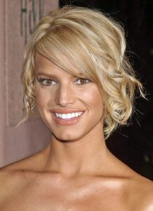 Jessica Simpson New, Medium, Short, Updo Hairstyles Pictures
