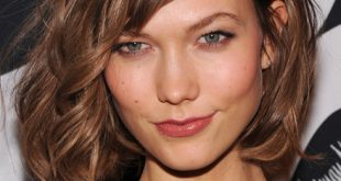 Karlie Kloss New Short Bob Hairstyles Pictures