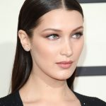 Bella Hadid New, Latest, Medium, Shoulder Length Hairstyle Pictures