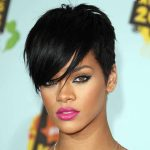 Rihanna Short, Bob, Mohawk, Long Hairstyles Pictures