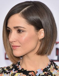 Rose Byrne New, Short, Bob Hairstyles Pictures