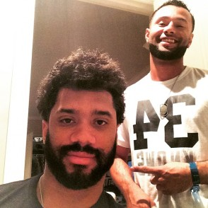 Russell Wilson New Haircut 2017