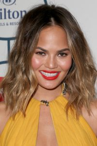 Chrissy Teigen New, Long, Medium, Shoulder Length Hairstyles Pictures