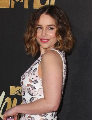 Emilia Clarke New, Short, Bob, Shoulder Length Hairstyles Pics