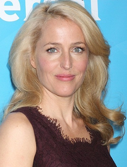 Gillian Anderson New, Bob, Shoulder Length Hairstyles Pictures