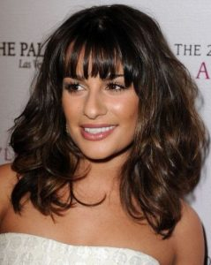 Lea Michele Updo, Short, Glee, Long, New Hairstyles Pictures