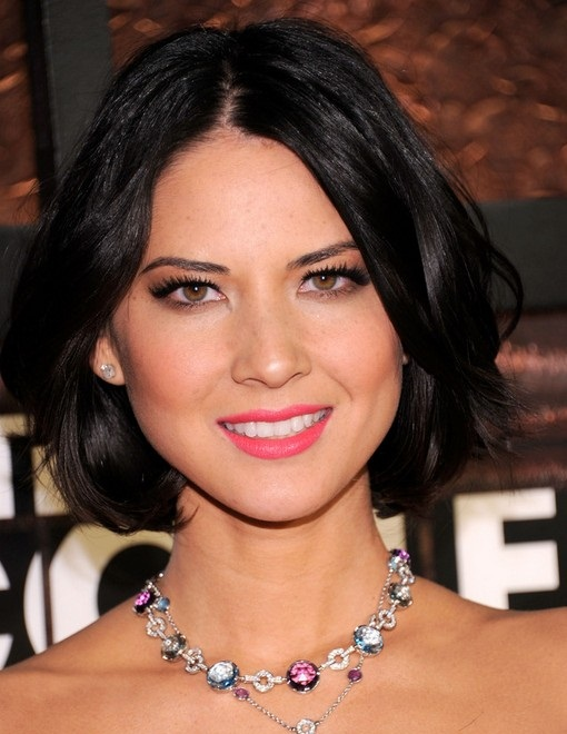 Olivia Munn New, Short, Bob, Shoulder Length Hairstyles Pictures