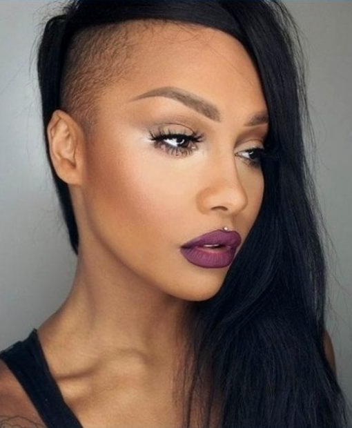 African American Long Hairstyles 2018 Undercut hairstyle