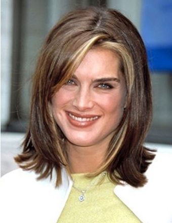 Brooke Shields New, Long, Shoulder Length, Medium Hairstyles Pictures