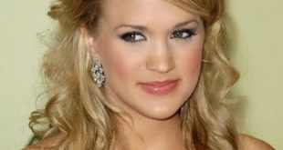 Carrie Underwood Wedding, New, Updo, Short, Curly Hairstyles Pics