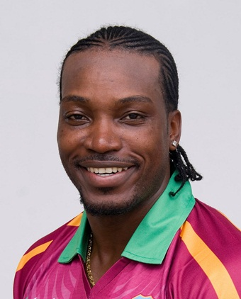 Chris Gayle New Hairstyle 2019 Pictures