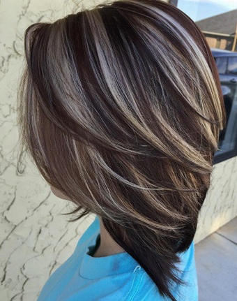 Dark Brown Hair Color Ideas 2017 With Highlights