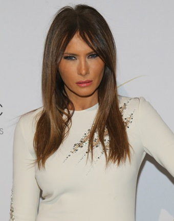 Melania Trump Long, Medium, Wavy Hairstyles Pictures