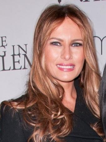 Melania Trump Long, Medium, Wavy Hairstyles Pictures