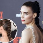 Rooney Mara New, Ponytail, Updo, Short Hairstyles Pictures