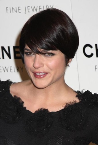 Selma Blair New, Bob, Short Hairstyles Pictures 1