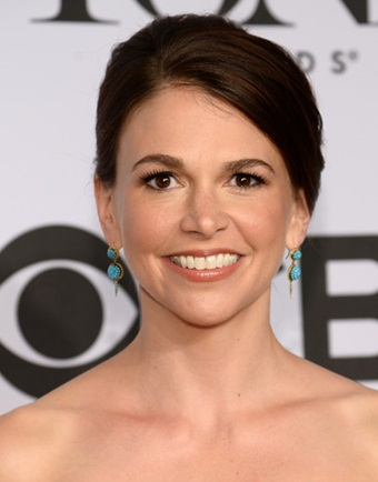 Sutton Foster Long, Updo, Ponytail Hairstyles Pictures