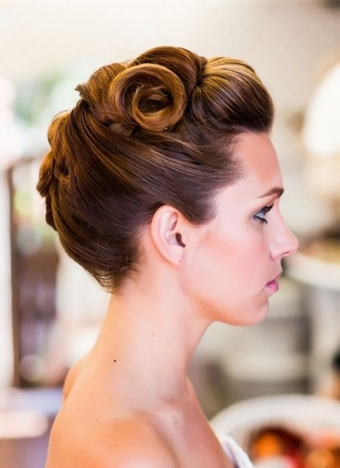 Updo Ponytail Hairstyles 2018 Black, Side, Curly