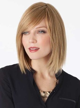 Medium Bob Hairstyles With Bangs And Layers 2018