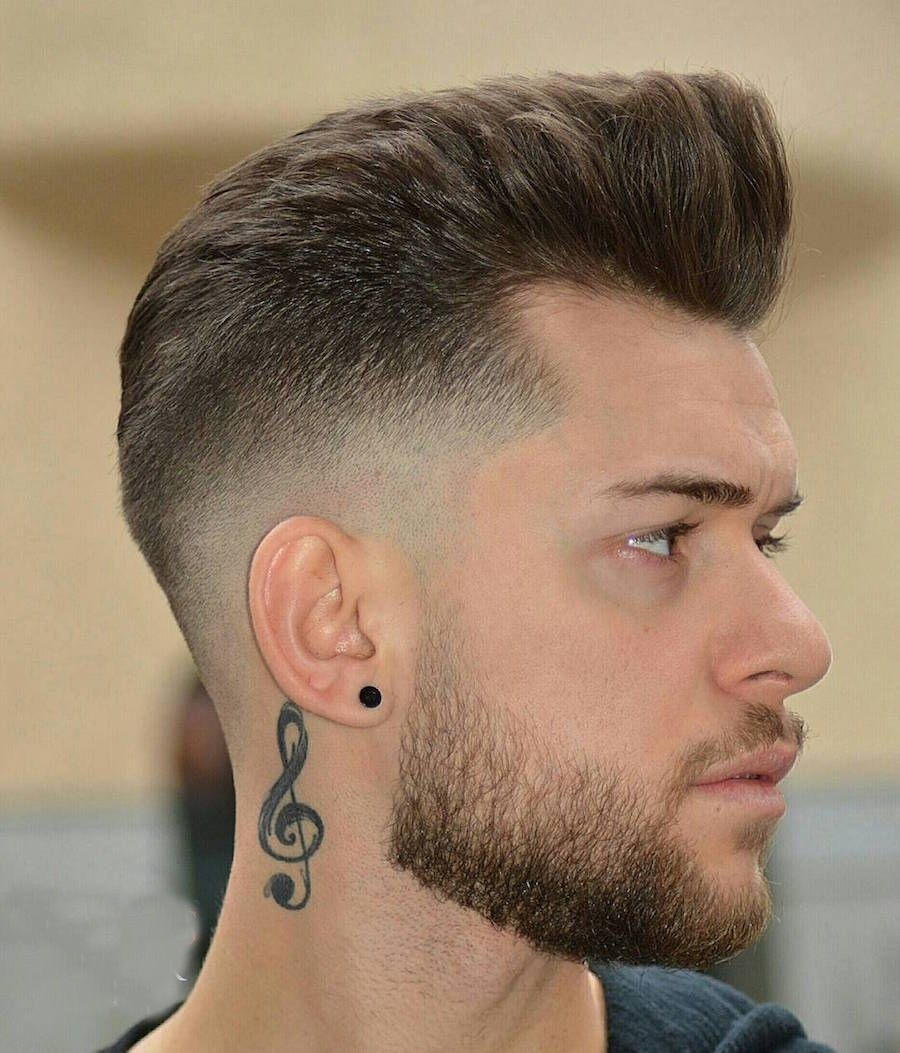 Men's Hairstyle Trends 2019 With Tatoo