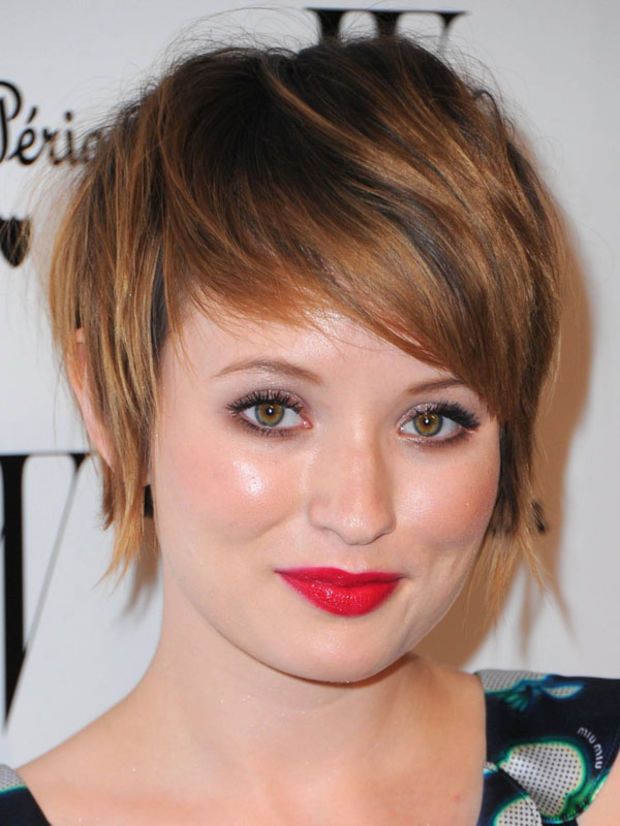 Short Haircuts For Round Faces 2019 Choppy Haircuts
