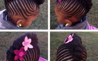 Toddler Braided Hairstyles With Beads For Black Kids