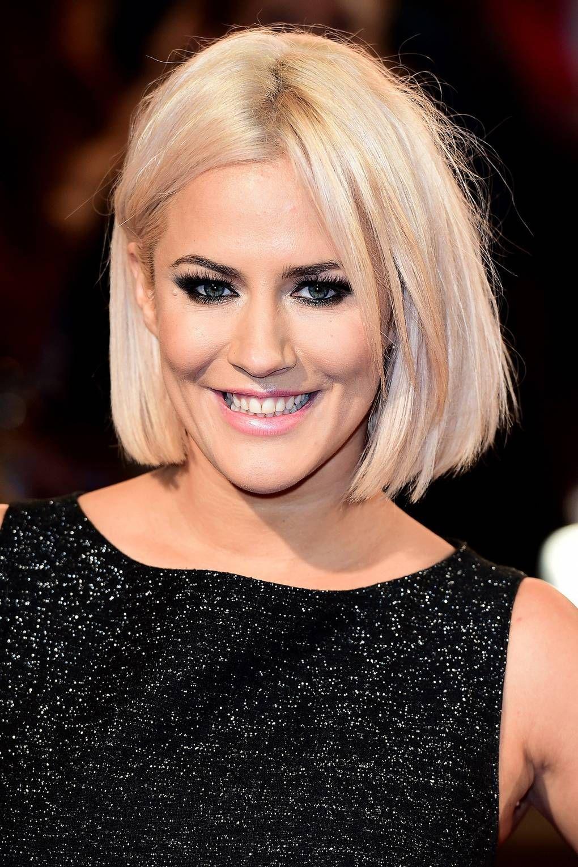 Caroline Flack Hairstyle 2020 Blonde Hair 6