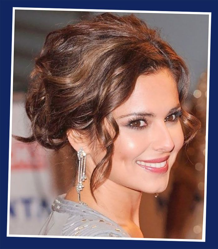 Cheryl Cole Updo Hairstyle: