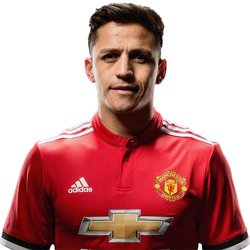 Alexis Sanchez Haircut 2018 Front Face