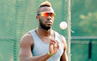 Andre Russell New Hairstyle 2021