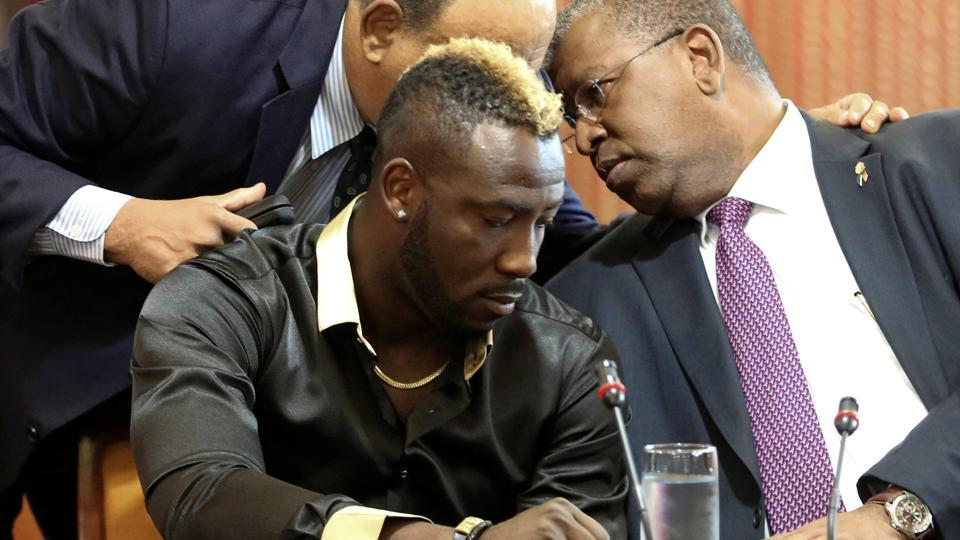 Andre Russell New Hairstyle 2019 Picturs for IPL