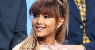 Arianna Grande New Bangin Summer Hairstyle 2020