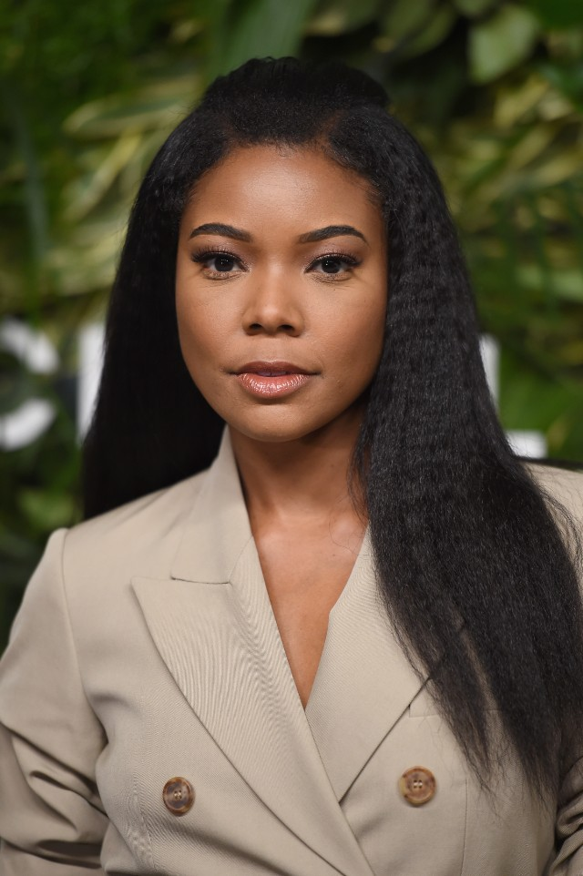 Gabrielle Union Hairstyles 2018 Curley Waves
