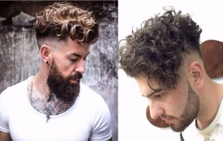 Haircuts For Men With Curly Hair 2021