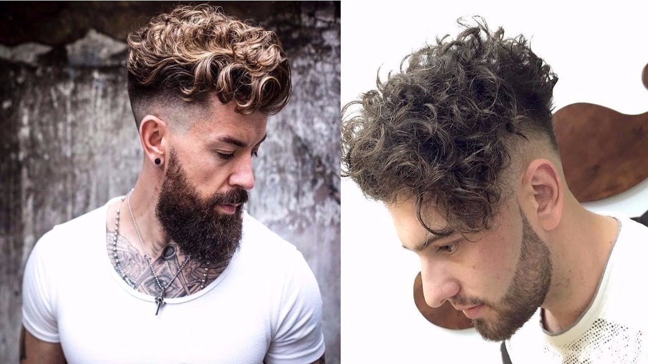 Haircuts For Men With Curly Hair 2018