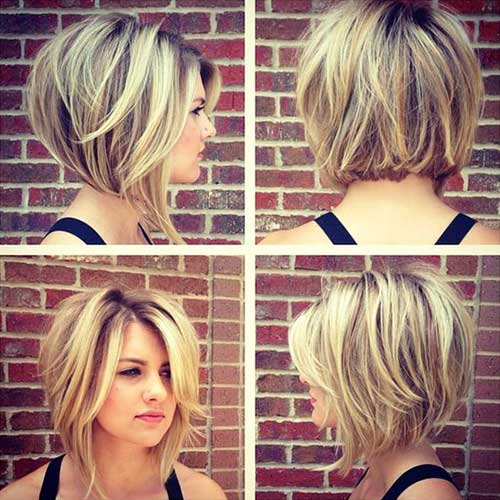 Long Bob Hairstyles For Round Faces 2018
