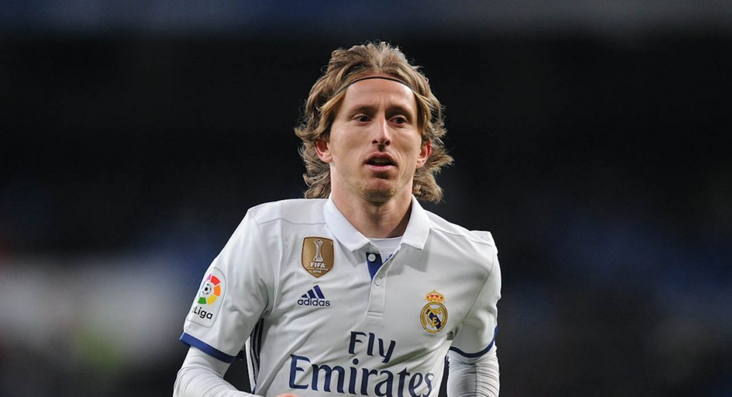 Luka Modric New Haircut 2018 Front Face