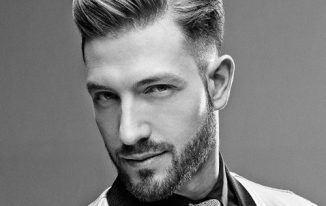 Mens Comb Over Hairstyle 2021