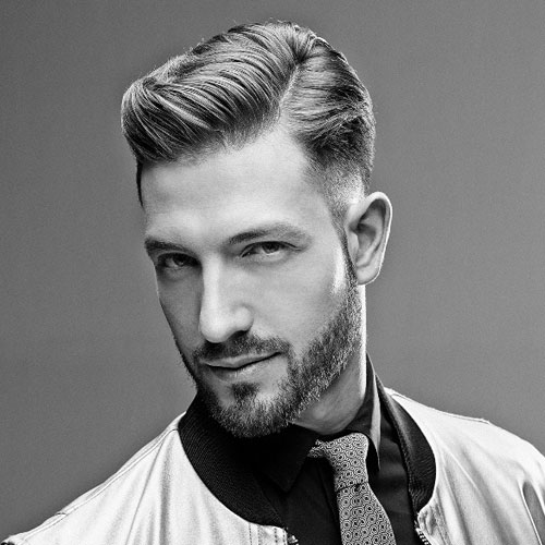 Mens Comb Over Hairstyle 2019 Classic Picture