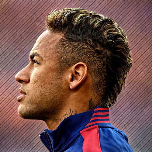 Neymar Haircut 2018 Side View, Hairstyle Name