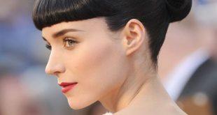 Rooney Mara Rug Bun Hairstyle 2020 at Oscar